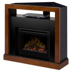 Dimplex Tanner Convertible Electric Fireplace Media Console - GDS25HL-5309WN