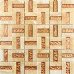 Marble Backsplash Tiles Crystal Glass Blend Kitchen Mosaic Wall Stickers Kitchen T043