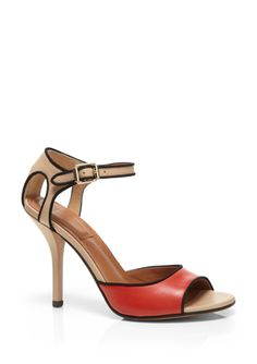 On ideeli: GIVENCHY Colorblock Heeled Sandal