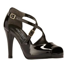 33814b90d637 Rose Petals by Walking Cradles Women s Lissa Ankle Strap Sandal Black  Patent Leather