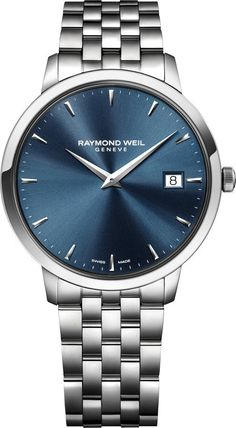 Raymond Weil Watch Toccata #bezel-fixed #bracelet-strap-steel #brand-raymond-weil #case-depth-7-82mm #case-material-steel #case-width-42mm #date-yes #delivery-timescale-4-7-days #dial-colour-blue #gender-mens #luxury #movement-quartz-battery #official-stockist-for-raymond-weil-watches #packaging-raymond-weil-watch-packaging #style-dress #subcat-toccata #supplier-model-no-5588-st-50001 #warranty-raymond-weil-official-2-year-guarantee #water-resistant-50m