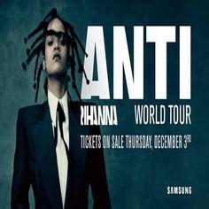 Rihanna 'ANTI' World Tour Dates With Travis Scott, Big Sean
