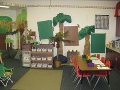 frog themed classroom