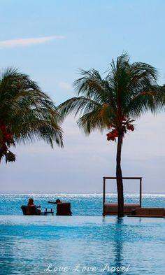 Infinity Pool, Dina Robin Resort, Mauritius