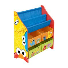 Perfect Sesame Street Book and Toy Organizer
