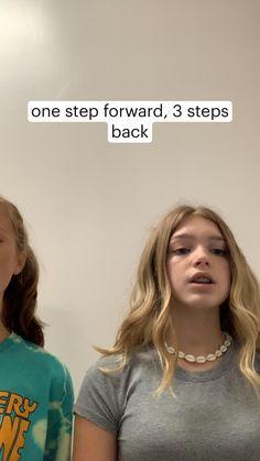 one step forward, 3 steps back