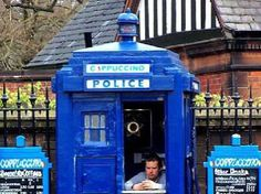 FISH fingers and custard, anyone? Here are seven cafes and bars where Whovians can indulge their Tardis obsession.