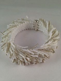 Tendance Bracelet Perles 2018 Description Beaded sea urchin bracelet by XxxWithyouinmindxxX on Etsy Bead Jewellery, Seed Bead Jewelry, Beaded Jewelry, Handmade Jewelry, Beaded Necklace, Seed Beads, Jewelry Patterns, Bracelet Patterns, Jewelry Making Tutorials