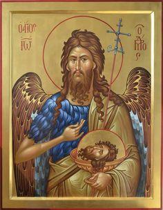 Religious Icons, Religious Art, St Pio Of Pietrelcina, Faith Of Our Fathers, Religion, Byzantine Icons, John The Baptist, Art Icon, Catholic Saints