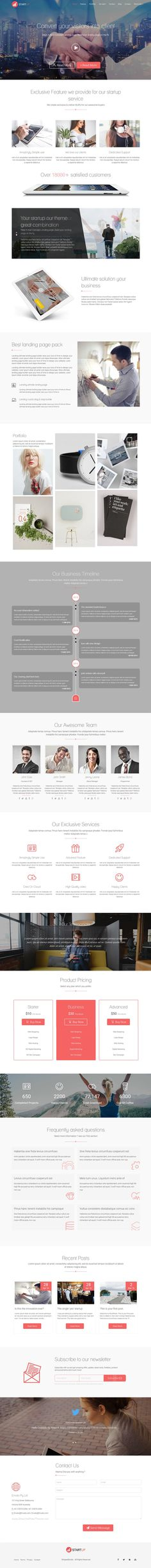 Startup is a fully-featured multi-concept Drag & Drop #WordPress #Theme that looks effortlessly on-point in #startup business, events, app showcase or marketing template to promote your business or corporate website download now➯ https://themeforest.net/item/startup-multi-concept-landing-page-wordpress-theme/16010428?ref=Datasata