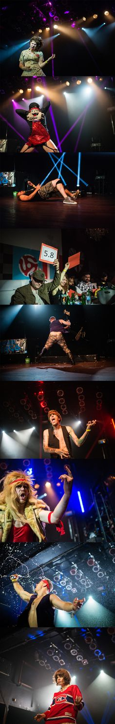 Air born: Scenes from the National Air Guitar Championships