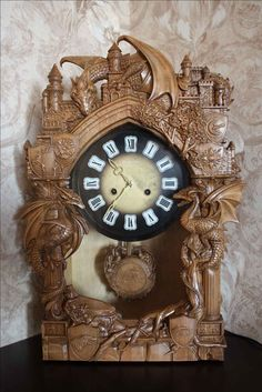 Часы каминные.