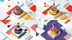"Motion graphic illustrator Alex Mapar contributing to Buck NY's latest piece ""Onward Internet"""
