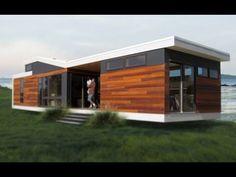 640 Sq. Ft. California Solo 1 Modern Prefab Tiny House | Amazing Small House Design - YouTube