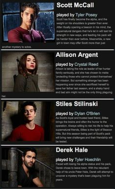 Teen Wolf Season 3b profiles | DEREK'S COMING BACK!!!!!! YYYYAAAAYYYY!!!!!!