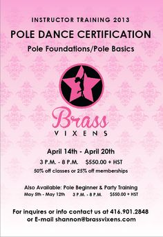 Want to be a pole dance instructor? Pole Dance Moves, Pole Dancing, Pole Tricks, Dance Instructor, Events, Reading, Pole Dancing Moves, Word Reading, Pole Dance