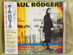 CD/Japan- PAUL RODGERS Muddy Water Blues w/OBI RARE Neal Schon Brian May #BluesRockHardRock