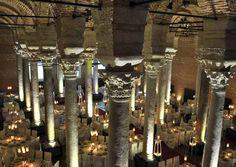 Balat kapalı sarnıcı (Sultan sarnıç) M.S. 4.yy. sonunda        I. Theodosius ( 378 - 395 ) döneminde yapılmıştır...   http://www.sultansarnic.com/sultan_sarnic_hakkimizda_tarihce.html