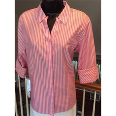 Chico's Top BUNDLE & SAVE 25% Chico's no iron button down. Hidden buttons, cuff sleeves. Excellent condition. Chico's Tops Button Down Shirts