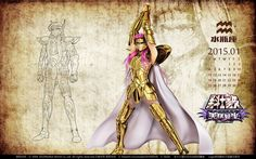 Saint Seiya - Camus by SONICX2011 on DeviantArt