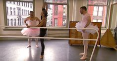 Check out Jimmy Kimmel as he dons a tutu and dances with Misty Copeland. You won't be disappointed.