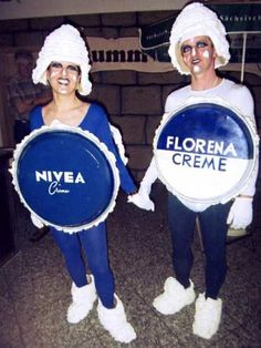 Nivea-Kostüm