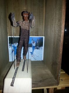 běžec na lyžích - klasik