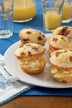 Rise and Shine Breakfast Recipes: Scrambled Egg Muffin Sliders