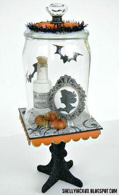 holiday, bell jars, craft gossip, halloween crafts, bells, halloween bell, happi halloween, jar idea, happy halloween
