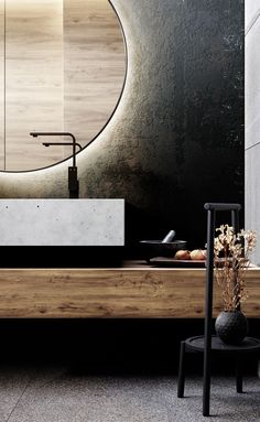 9 Versatile Cool Tricks: All Natural Home Decor Floors natural home decor wood wall colors.Natural Home Decor Diy Interior Design natural home decor bedroom rugs.Natural Home Decor Modern Apartment Therapy. Bad Inspiration, Decoration Inspiration, Bathroom Inspiration, Decor Ideas, Diy Ideas, Wood Ideas, Bathroom Ideas, Nature Bathroom, Decor Diy