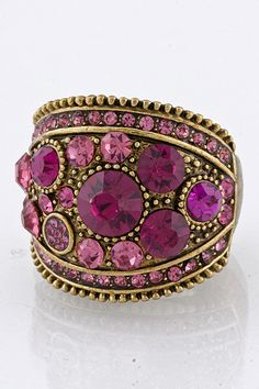 Cocktails anyone?  Perfect for the upcoming seasons! The Kendi Jeweled Wrap Ring  www.TheShoppingBagStore.com  #cocktails #fashion