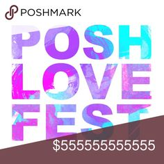 #PoshLoveFest: Poshmark is Turning 5 Poshmark is turning 5 on December 6th, and we're so excited to celebrate this huge milestone with you - our amazing community.  We're throwing Posh Parties ALL DAY (both in the app and live across the country) to spread the Posh Love to every single community member and create the largest day of sharing we've ever had on the platform - let's do this!   Want to join the fun in your own city? Tap the brand PoshLoveFest to see the live parties happening all…
