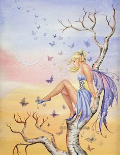 So Many Wishes  Fairy Myth Mythical Mystical Legend Elf Faerie Fae Wings Fantasy Elves Faries Sprite Nymph Pixie Faeries Hadas Enchantment Forest Whimsical Whimsy Mischievous
