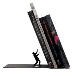 "Amazon.com: ARTORI Design ""Falling Books"" Metal Bookend Decorative 1 Pcs Black: Everything Else"