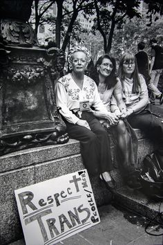 """Legendary activist Sylvia Rivera is still making history: She just became the first transgender American with a portrait in the Smithsonian.""""Rivera's portrait was installed in the National Portrait. Sylvia Rivera, Stonewall Riots, Vintage Lesbian, Lgbt History, Protest Posters, Riot Grrrl, Pride Parade, Power To The People, National Portrait Gallery"""
