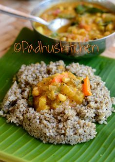 Kambu Sadam Bajra or kambu is is an extensively grown variety of millet and is one of the oldest millet used by our ancestors. Pearl millet/Bajra is a r. Vegetarian Cooking, Healthy Cooking, Vegetarian Recipes, Cooking Recipes, Healthy Recipes, Flour Recipes, Vegan Meals, Healthy Foods, Organic Recipes