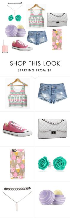 """""""i want to buy"""" by maisd ❤ liked on Polyvore featuring H&M, Converse, Bense Bags, Casetify, Bling Jewelry, Wet Seal, Eos and Essie"""