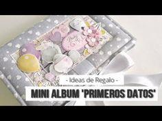 YouTube Scrapbook Bebe, Nova, New Pins, Scrapbooks, Create, Gifts, Youtube, Boxes, Mini Album Tutorial