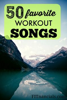 Here is a list of my favorite workout songs. I believe the music you listen to can really improve your workout. If you were listening to slow indie music, would it get you as pumped up as fast paced, upbeat music? It might for you, but definitely not for me!