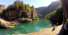 Best Places to visit in Chile - The Futaleufu is one of the most picturesque rivers on our planet!