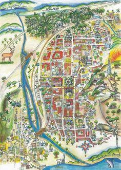 mapa turistico de tehuantepec