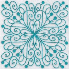 Embroidery | Free Machine Embroidery Designs | Bunnycup Embroidery | Wavy Quilt Blocks Redwork