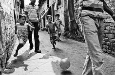 Street soccer, football