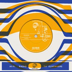 Brooks and O'Hagan - Calibair [Ghost Box Records] Ghost Box, Online Scrapbook, Composition, Album Cover Design, Music Artwork, Vintage Vinyl Records, Packaging, Artwork Design, Music Albums