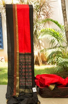 Ikkat Silk from Bengal.