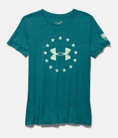 575a729f Women's UA Freedom Logo Short Sleeve | Under Armour US SIZE MEDIUM Freedom  Logo, Christmas