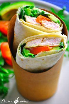 Crêpe Wrap, Ramadan Recipes, Healthy Recipes, Fajitas, Fresh Rolls, Sandwiches, Cooking, Ethnic Recipes, Quesadillas