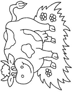 14 best Cows coloring book images on Pinterest | Coloring books ...