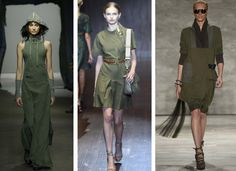Women Most Wearable Trend: Military Green