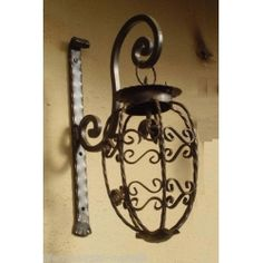 Wrought Iron Lantern. Stainless Steel. Customize Realisations. 349